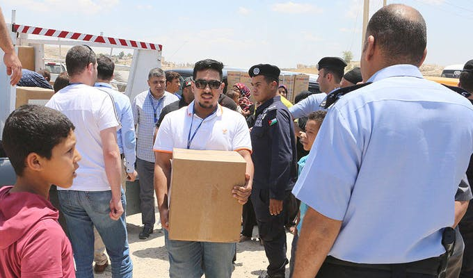 ProgressSoft and MoICT Distribute Relief Packages to the Needing Families for the 3rd Year