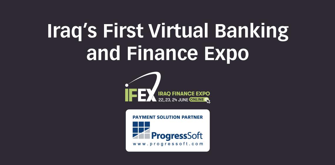 ProgressSoft au salon Iraq Finance Expo 2020
