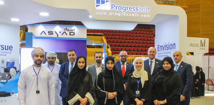 ProgressSoft en la feria de empleos y capacitación 2020 de SQU