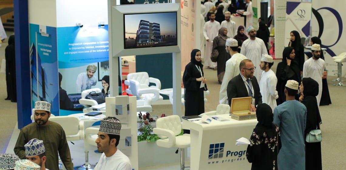 ProgressSoft Concludes Participation in the Sultan Qaboos University Career Fair 2018 in Oman