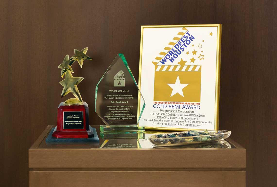 ProgressSoft Corporate Film Wins Various International Awards