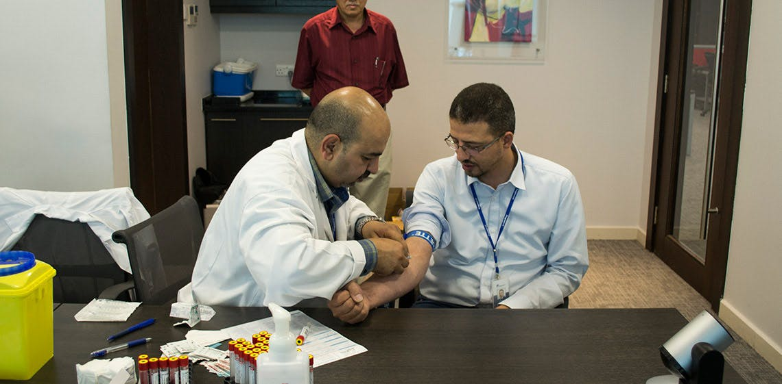 ProgressSoft Hosts Diabetes & Cholesterol Awareness Campaign for its Employees
