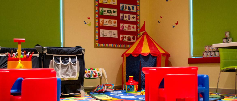 working in a nursery