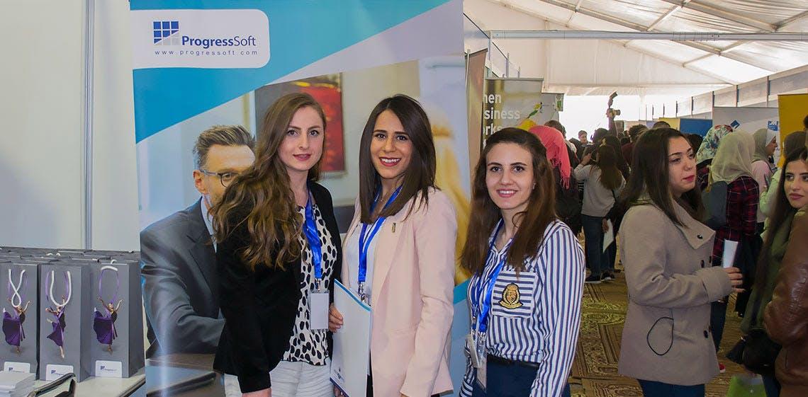 ProgressSoft Participates as the Exclusive Diamond Sponsor of PSUT Career Day