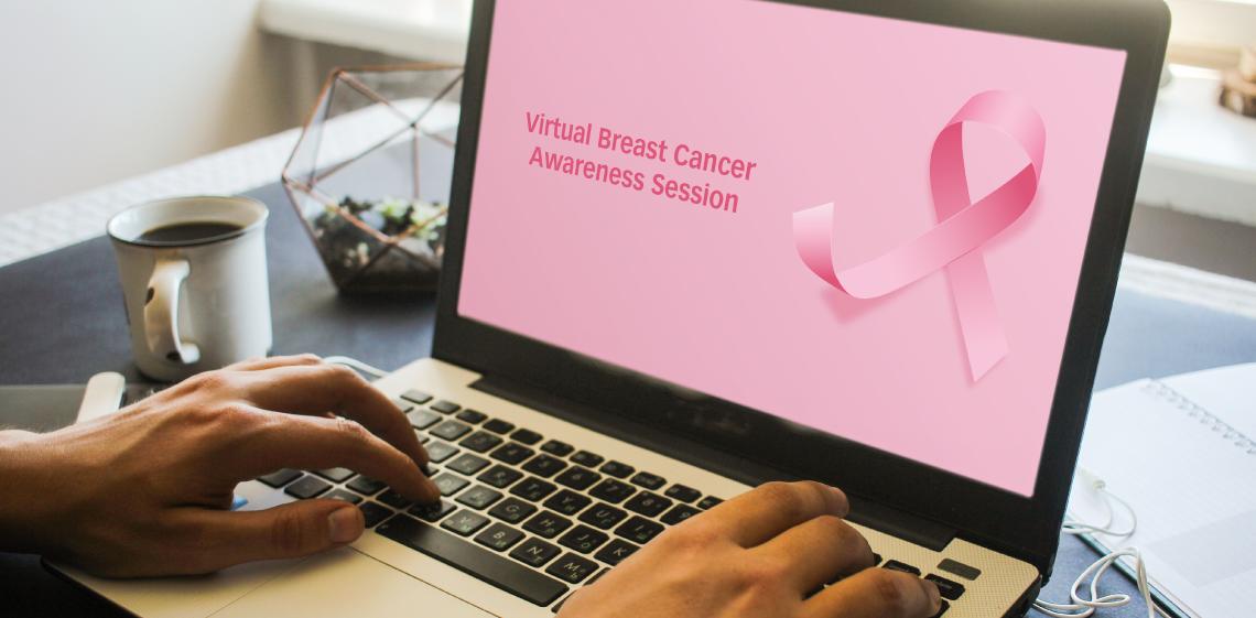 ProgressSoft Raises Breast Cancer Awareness Virtually