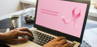 ProgressSoft、バーチャルでの乳がんの啓発活動