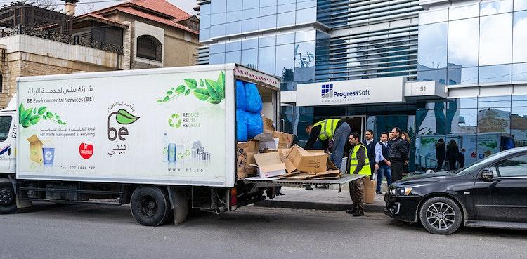 ProgressSoft Recicla mais de 300 Kgs de Resíduos de Papel