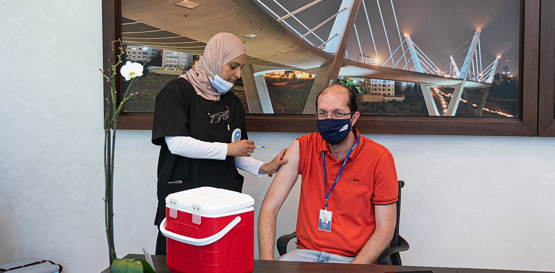 ProgressSoft現場疫苗接種