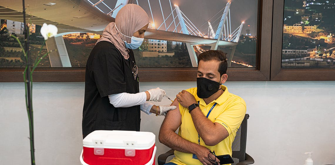 ProgressSoft führt Impfungen auf dem Betriebsgelände durch