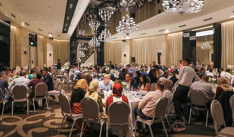 Iftar anual do Ramadão de 2018 da ProgressSoft