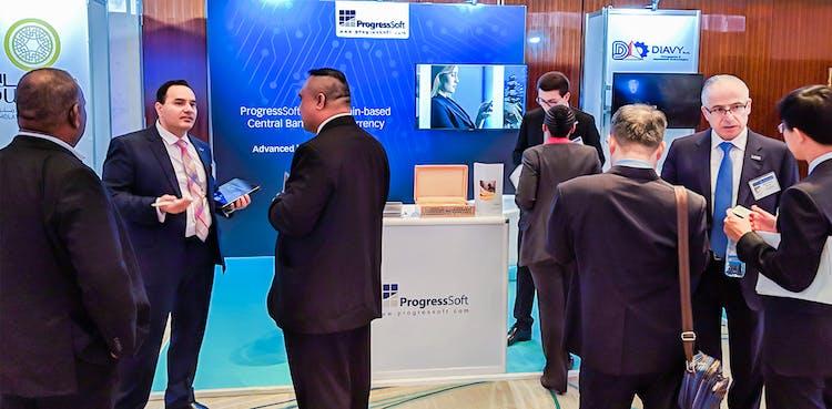 ProgressSoft weckt das Interesse der Zentralbanken bei der Currency Conference in Dubai
