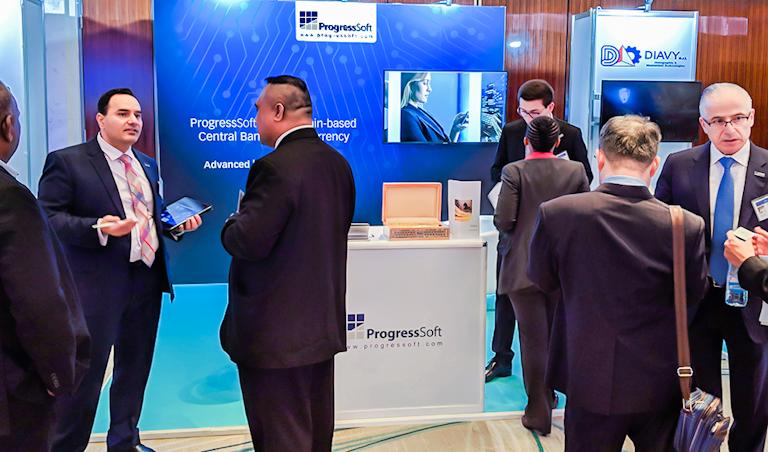 Разработки ProgressSoft вызвали большой интерес среди представителей центробанков на конференции Currency Conference в Дубае
