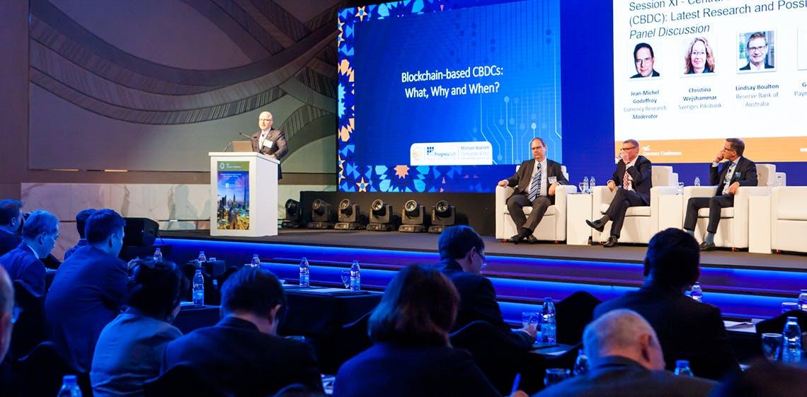 A ProgressSoft desperta o interesse dos bancos centrais na conferência sobre a moeda no Dubai