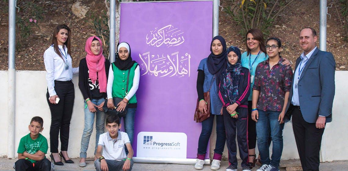 ProgressSoft Sponsors Iftar for Orphans at PSUT