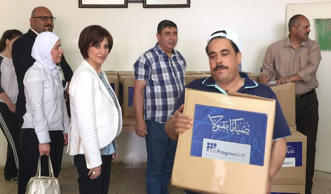 ProgressSoft Supports the Needing Families during the Holy Month of Ramadan