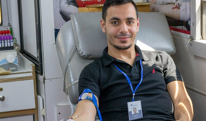 Saving Lives One Pint at a Time - Blood Drive 2018