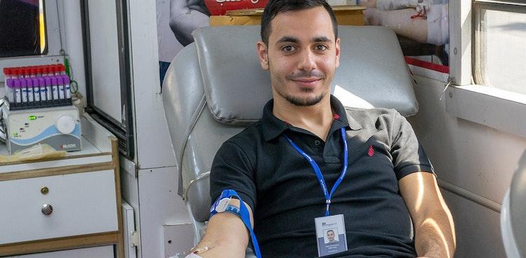 Leben retten - ein halber Liter nach dem anderen  - Blutspendeaktion 2018