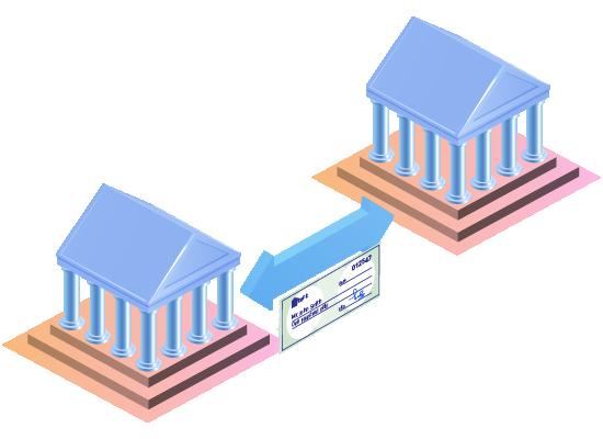 Compensación de cheques interbancarios