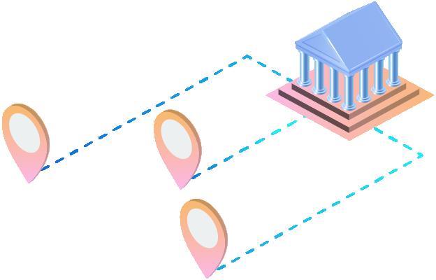 Scheckverrechnung zwischen Banken