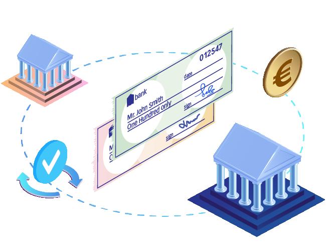Compensation électronique de chèques