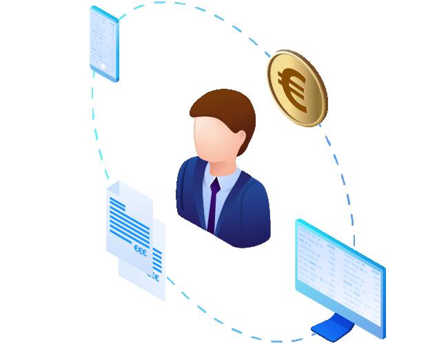Privatkundengeschäft-Plattform
