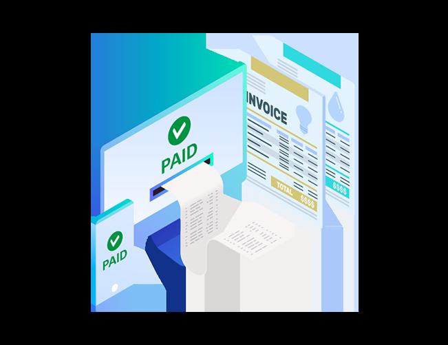 elektronische Rechnungszustellungs- und Zahlungslösung